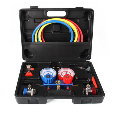 4 Way AC Manifold Gauge Set R134a r134 R410A R404A R22 w